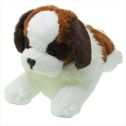 Hizawanko Knee Dog St. Bernard Plush Doll M Sunlemon Japan
