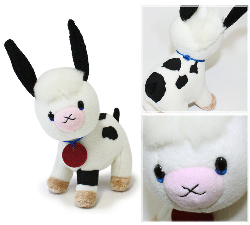 Milk Cow Plush Doll S Happy Jackie the bears' school Japan