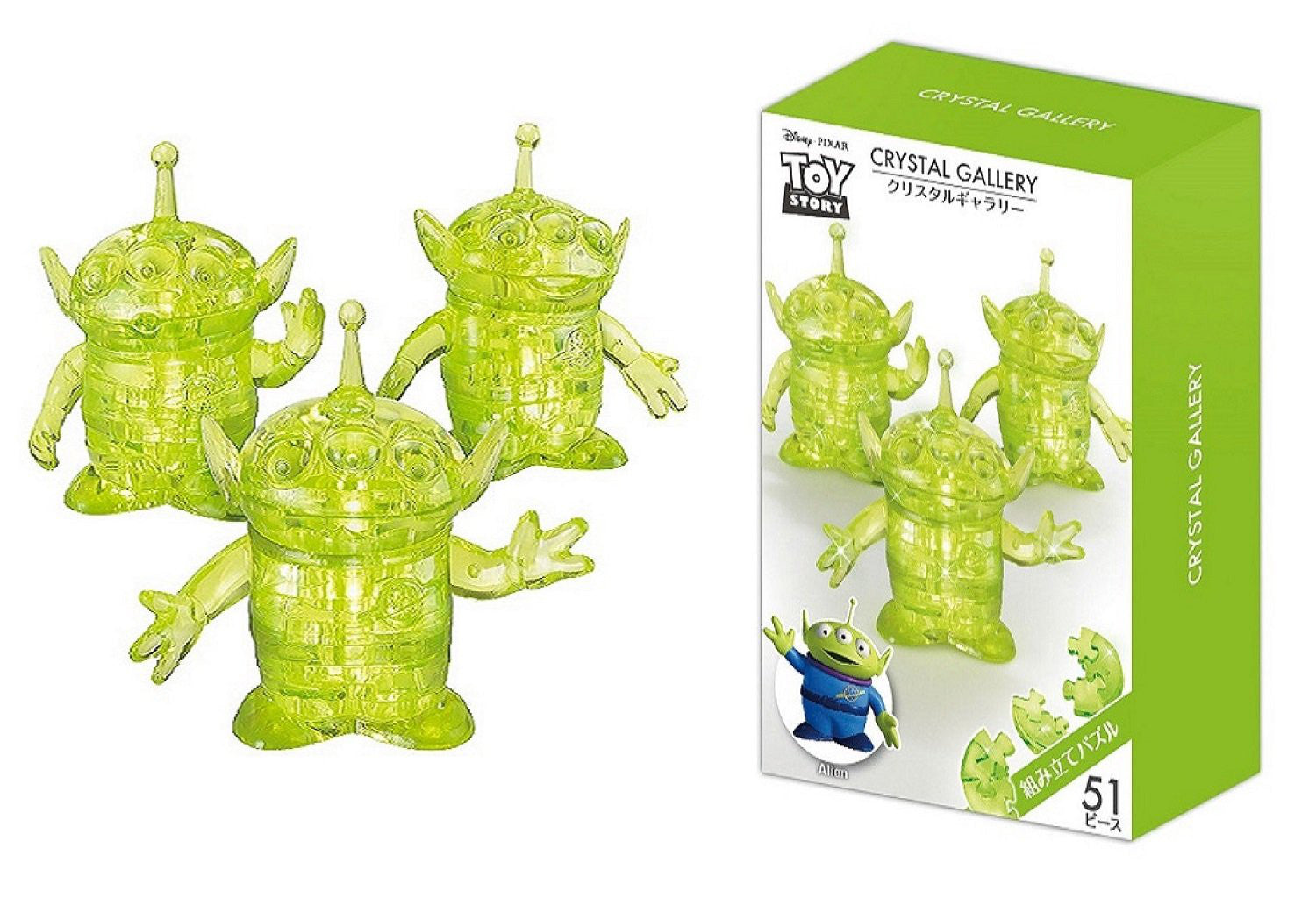 3D Puzzle Crystal Gallery Toy · Story Friends