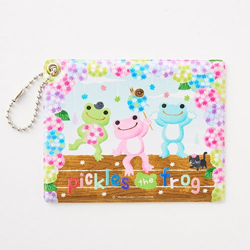 Pickles the Frog Pass Case Konpeito Hydrangea Japan