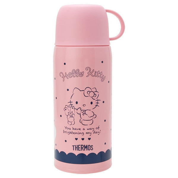 Hello Kitty 2WAY Stainless Bottle 630ml Navy Sanrio Japan