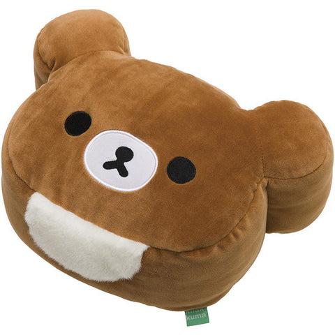 Chairoikoguma Cushion S Super Soft Mocchi- San-X Japan Rilakkuma