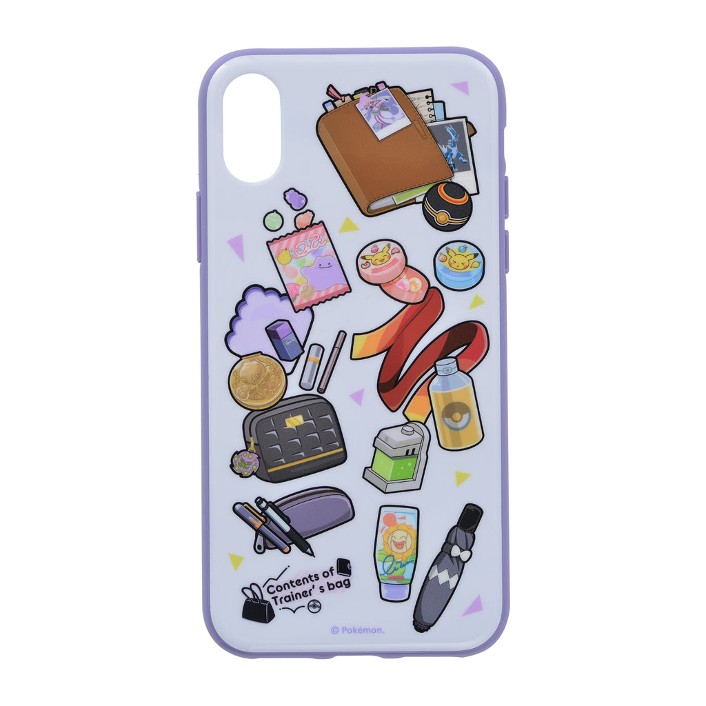 iPhone X / XS Case Cover Soft Contents of Trainer's bag PL Pokemon Center Japan