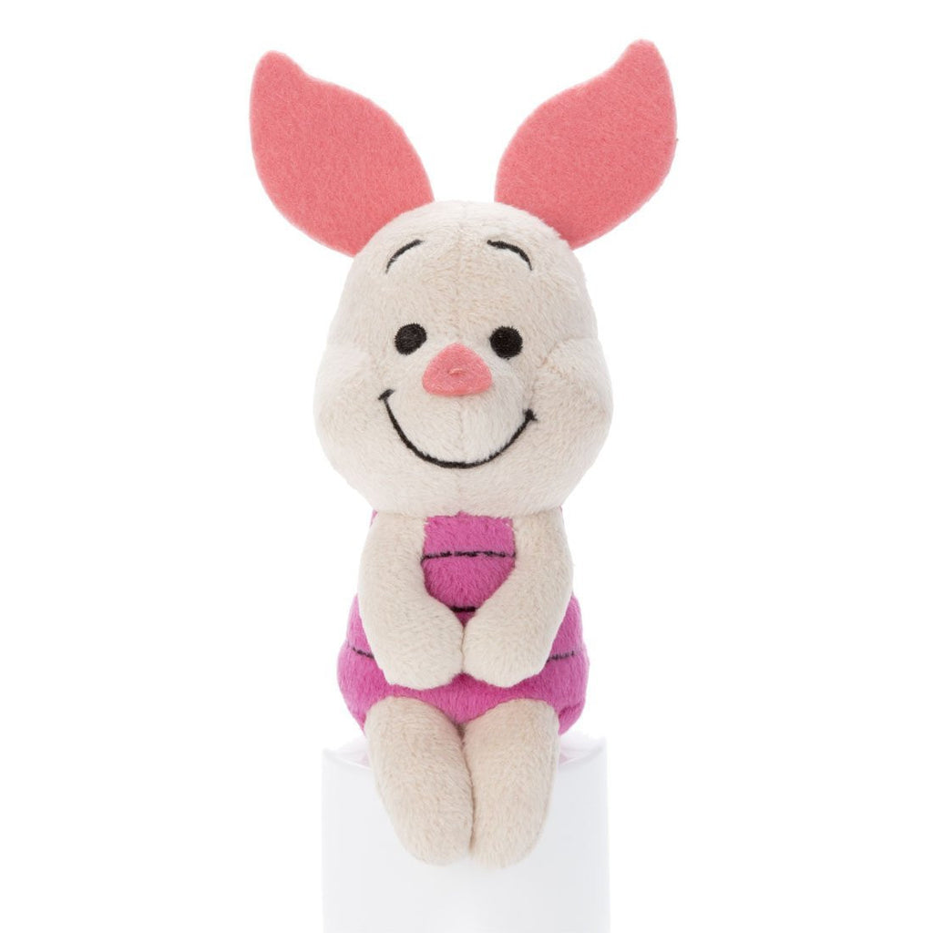 Piglet Chokkorisan mini Plush Doll Disney Japan Takara Tomy