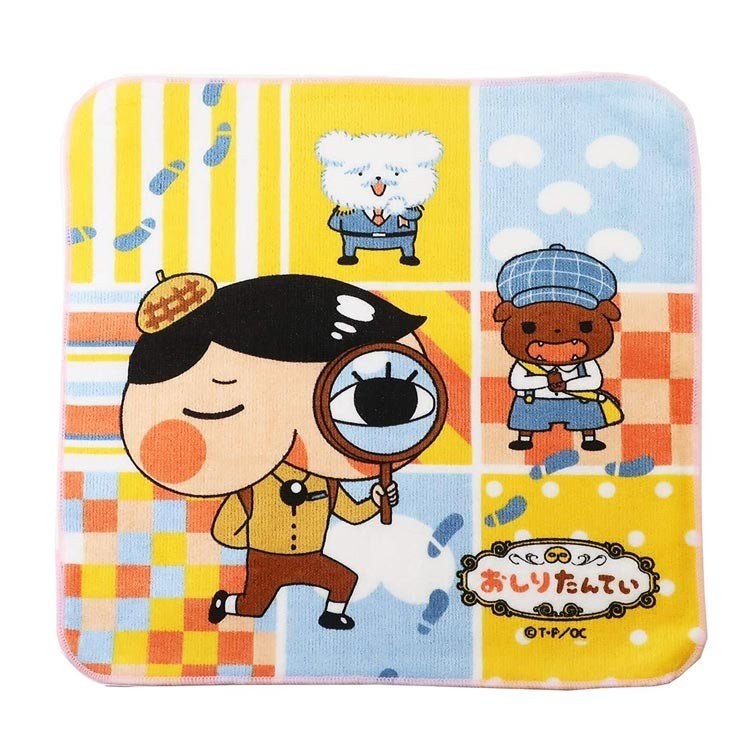 Oshiritantei Butt Detective mini Towel Japan