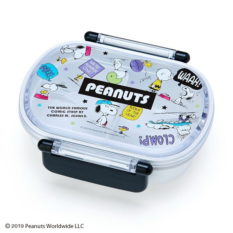 Snoopy Lock Lunch Box Bento PEANUTS Sanrio Japan