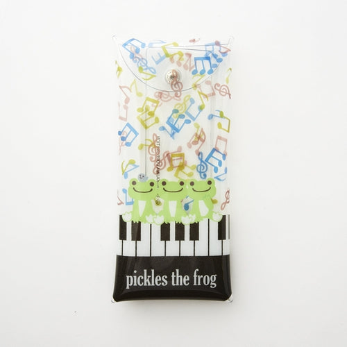 Pickles the Frog Clear Multi Case Note Japan