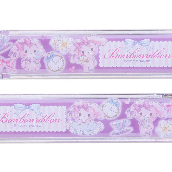 Bonbonribbon Chopsticks w/ Case Cake Sanrio Japan