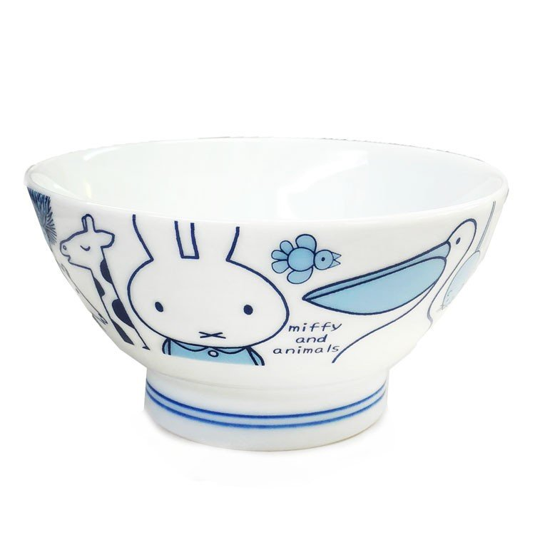 Ceramic Bowl Miffy & Animals Japan