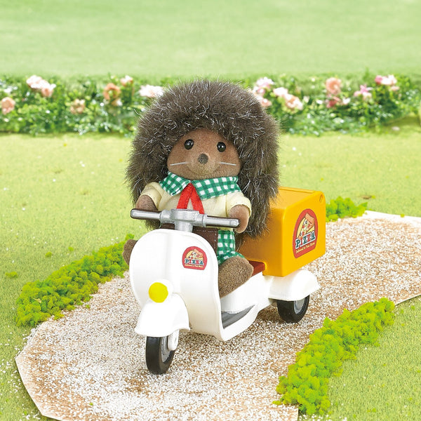 Sylvanian Families Delivery Pizza Shop Set from Japan Calico Critters