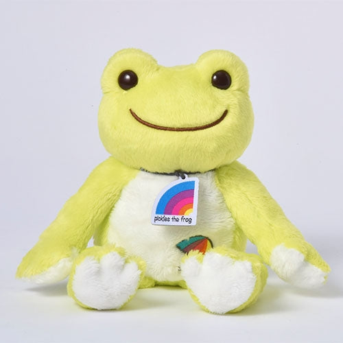 Pickles the Frog Bean Doll Plush Green Ametalk! Japan
