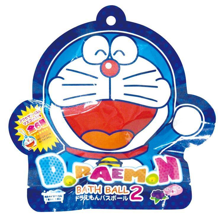 Doraemon Bath Ball Bomb Random Figure Ourple Japan Bandai