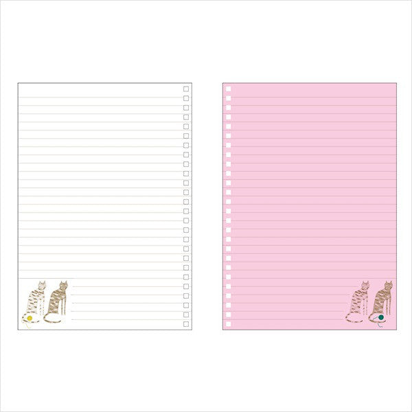 Ring Notebook A5 Cat Pink PAUL & JOE Japan