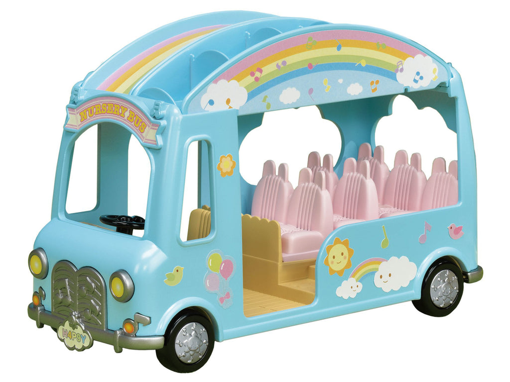 Rainbow Nursery School Bus S-62 Sylvanian Families Japan Calico Critters
