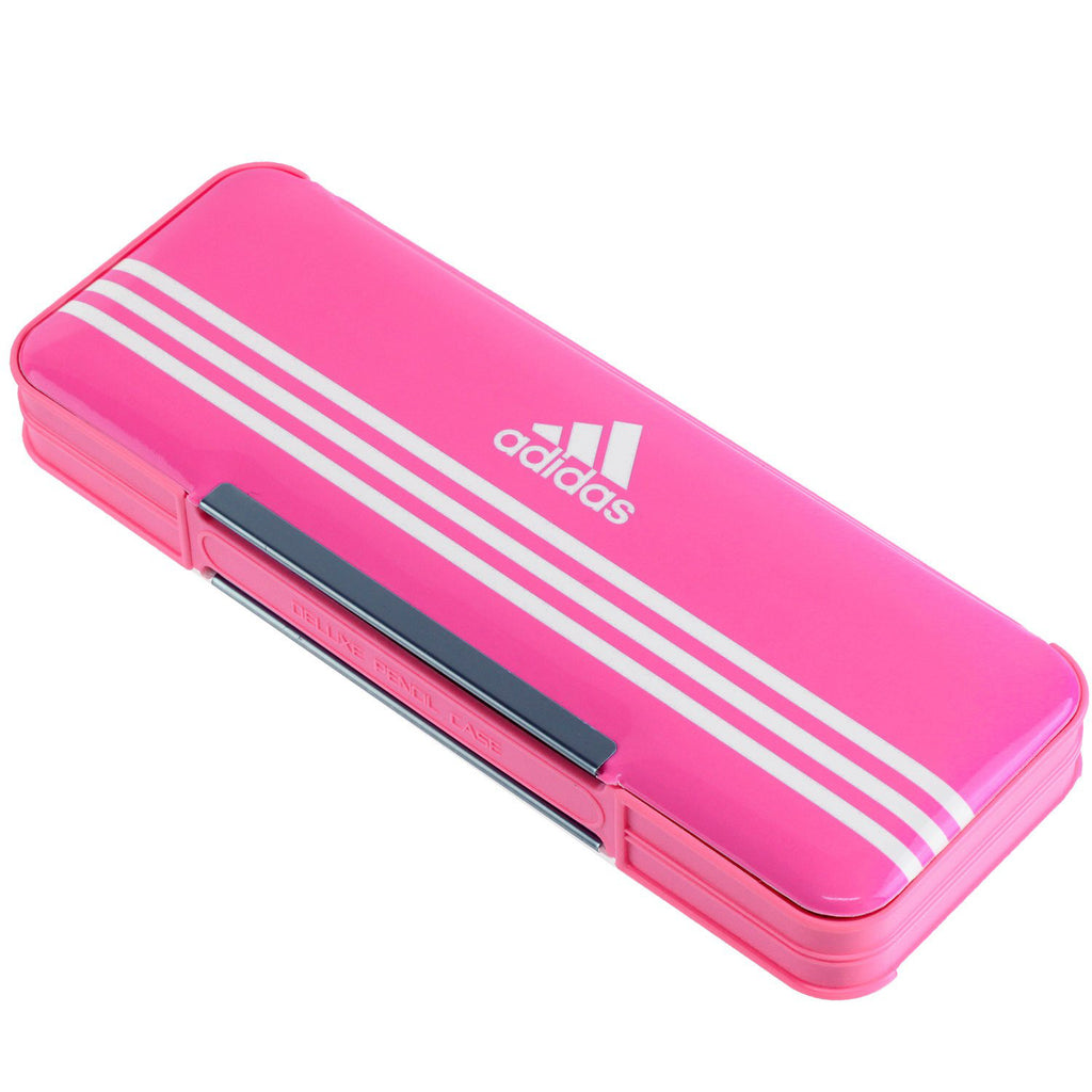 Adidas Pen Case Pink P1505BT2 Stationery Japan Mitsibishi Pencil
