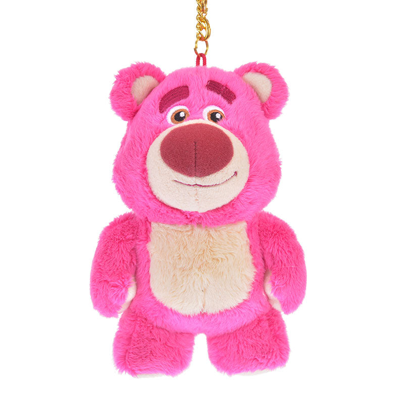 LOTS O HUGGIN Bear Plush Keychain Toy Story Legacy Disney Store Japan