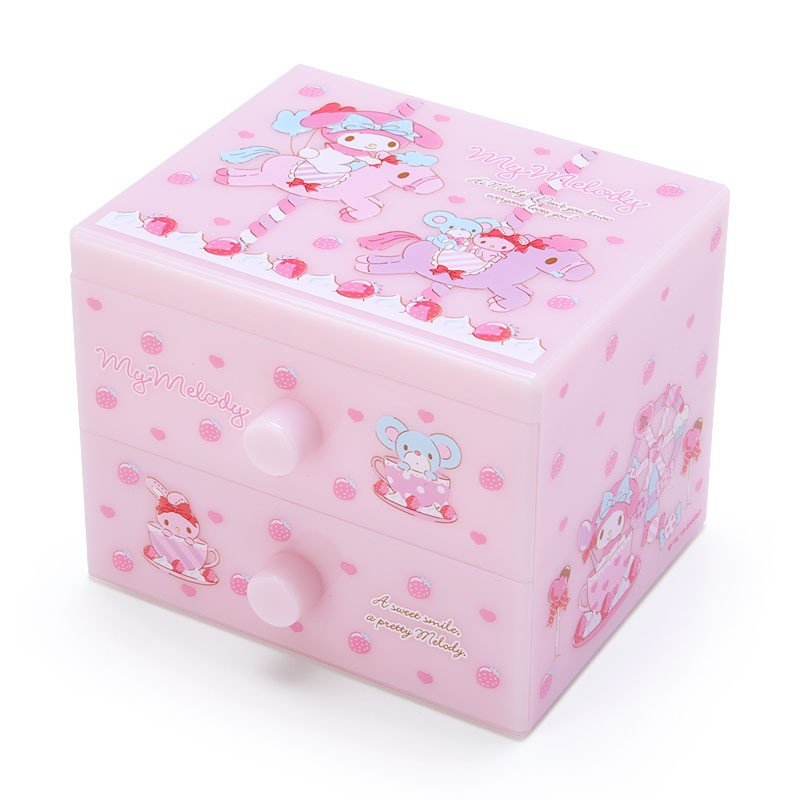 My Melody mini Plastic Chest Sanrio Japan