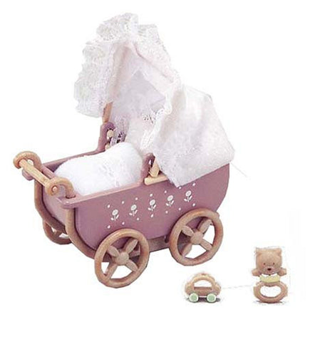 Furniture Baby Car Set Ka-205 Sylvanian Families Japan Calico Critters