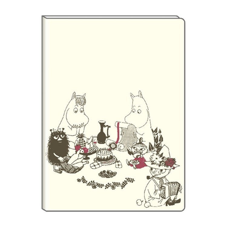 Moomin 2019 Schedule Planner Book A5 Monthly Party Japan Moomin Delfino