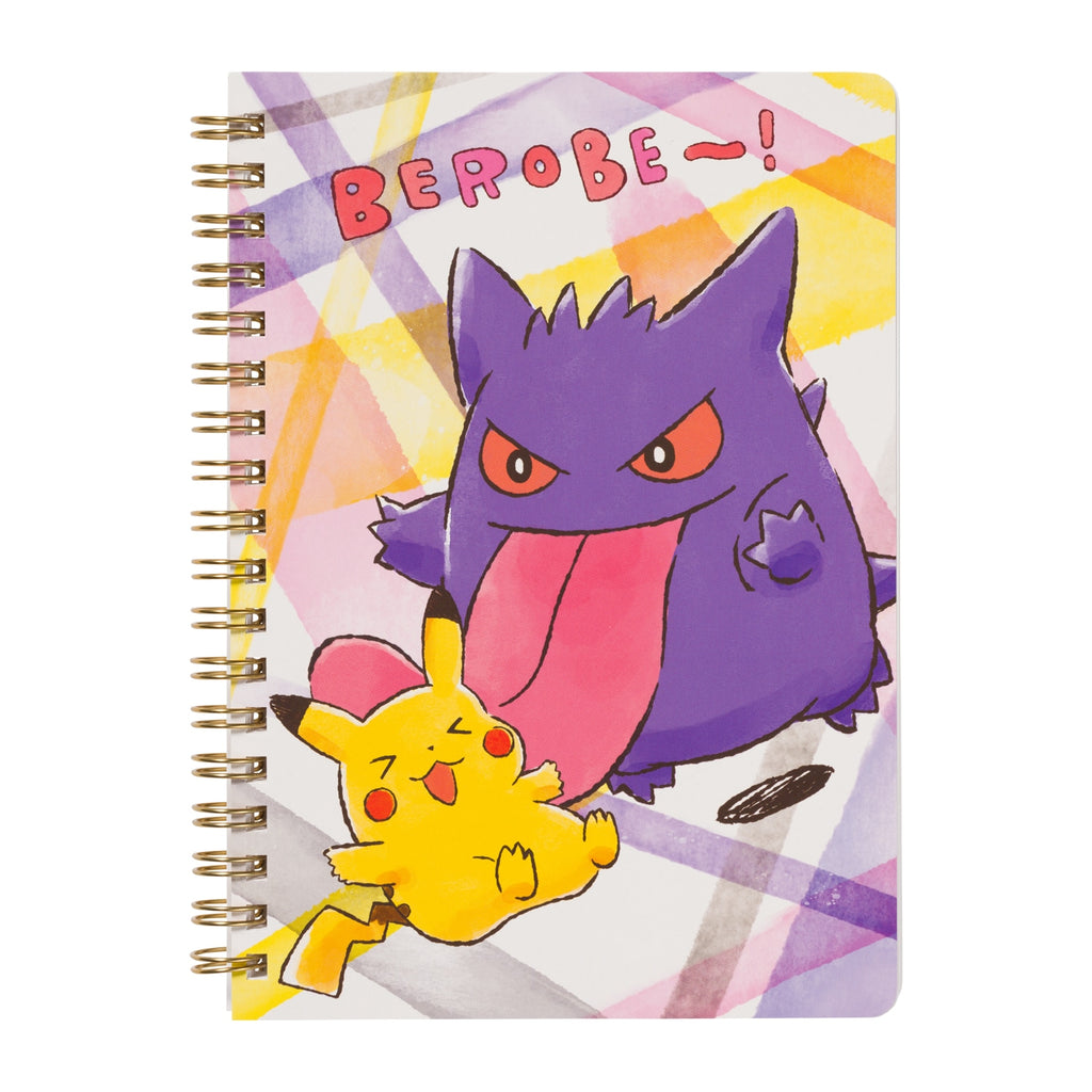 Ring Notebook B6 Lick BEROBE~! Pokemon Center Japan