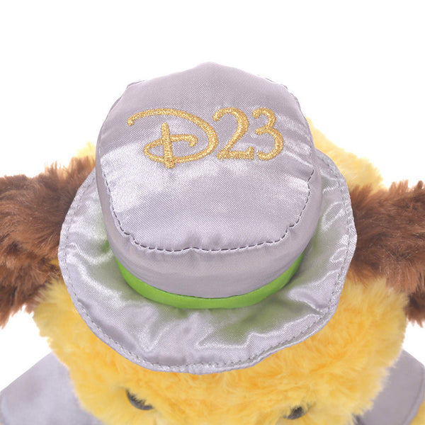 UniBEARsity Maple Pluto Plush Doll S 7th Anniversary Top Hat Disney Store Japan