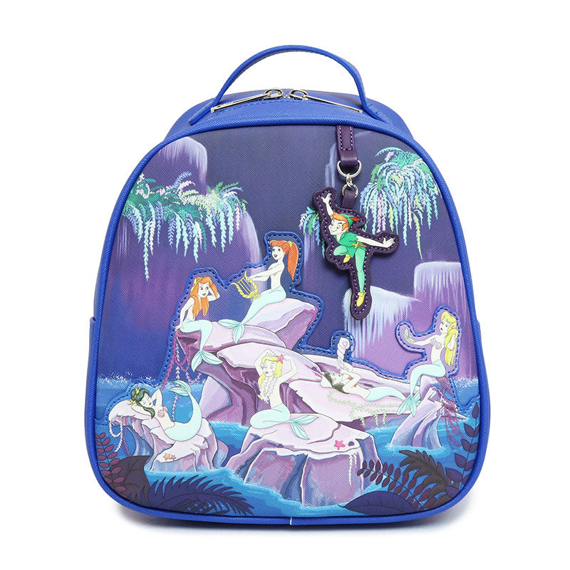 Loungefly x Peter Pan Character AOP Backpack
