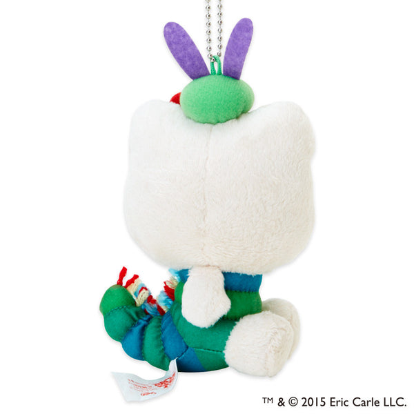 Hello Kitty X The Very Hungry Caterpillar - Plush Mascot Holder SANRIO Japan