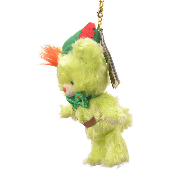 UniBEARsity Bread Peter Pan Plush Keychain Disney Store Japan