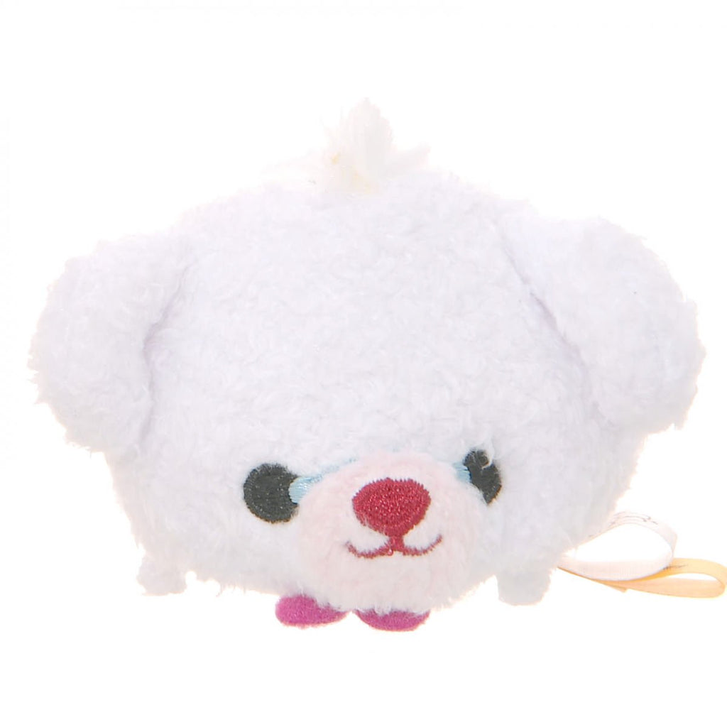 UniBEARsity Milk White Rabbit Plush Tsum Tsum mini S Disney Store Japan Alice