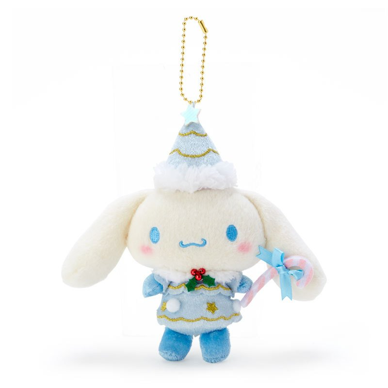 Cinnamoroll Plush Mascot Holder Keychain Christmas Fairy Sanrio Japan 2020