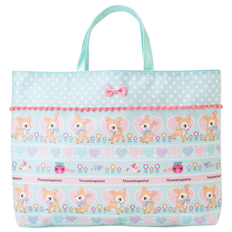 Hummingmint Bambi Tote Bag Nordic forest SANRIO Japan