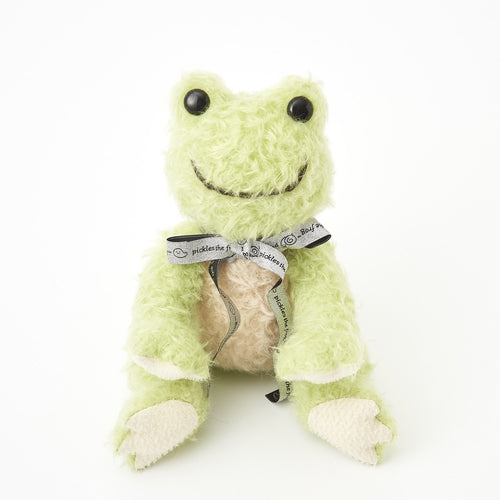 Pickles the Frog Plush Doll Steiff Gift BOX Japan