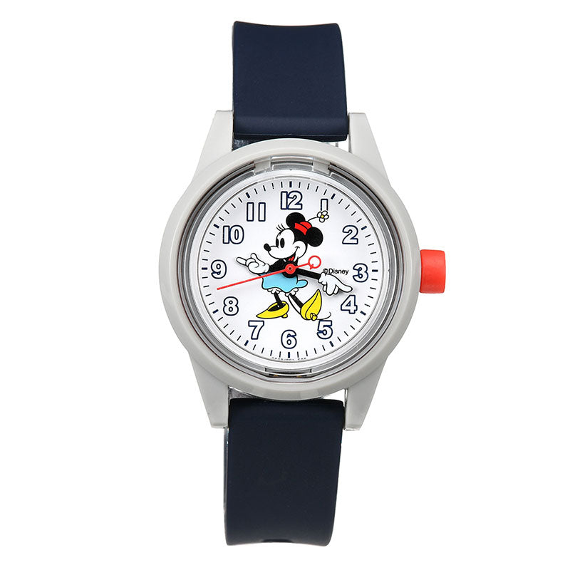 Minnie Q&Q SmileSolar Watch S Disney Store Japan