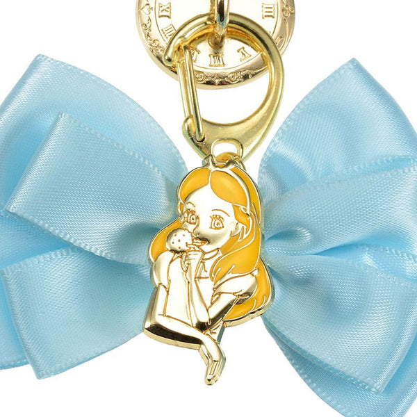 Alice in Wonderland Charm for Smartphone Case Ribbon charming Disney Store Japan