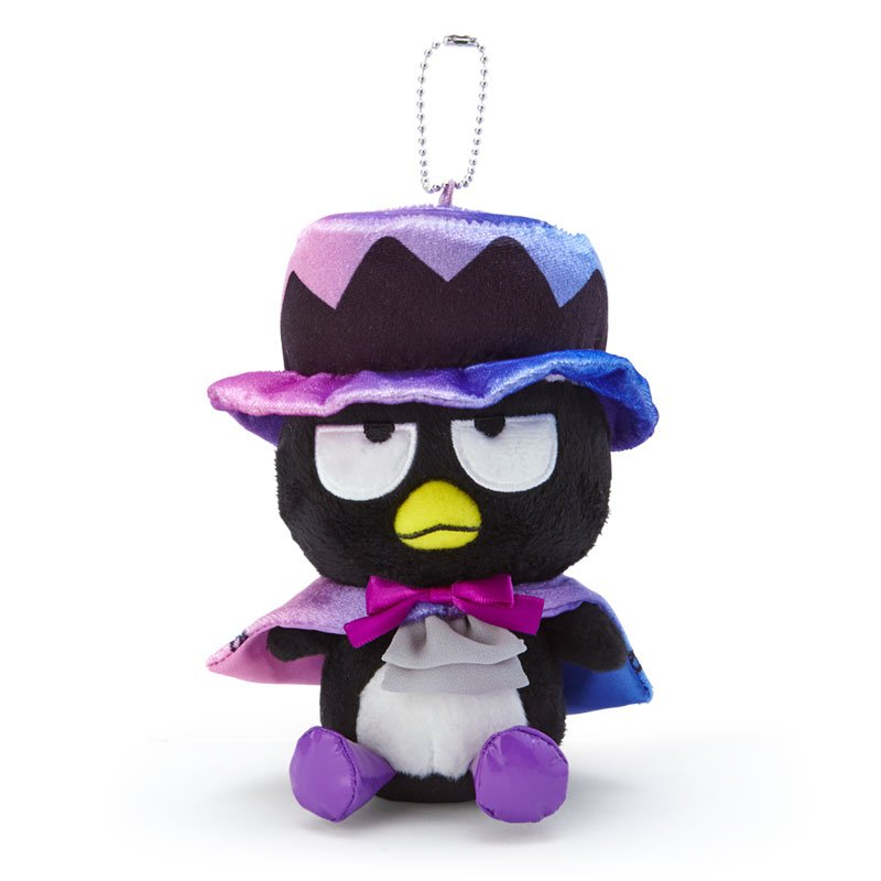 Bad Badtz-Maru Plush Mascot Holder Keychain Sanrio Japan Halloween 2020