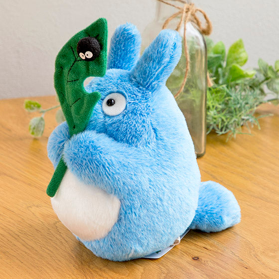 My Neighbor Medium Totoro Fluffy Otedama mini Plush Doll M Studio Ghibli Japan