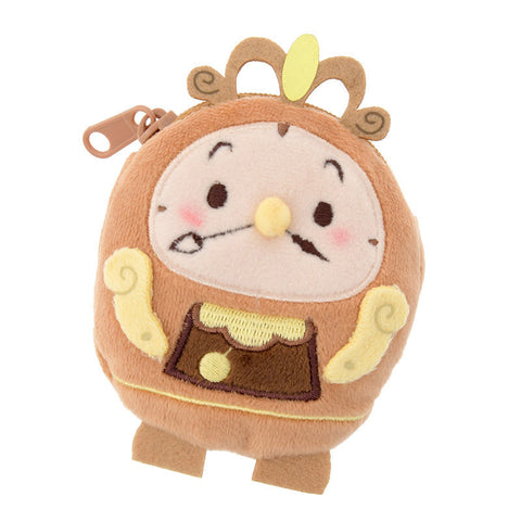 Cogsworth Coin Case Pouch ufufy Disney Store Japan Beauty and the Beast