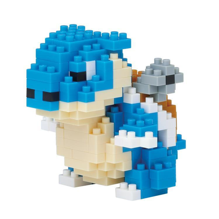 Blastoise Kamex Block Building Toy nanoblock Pokemon Japan