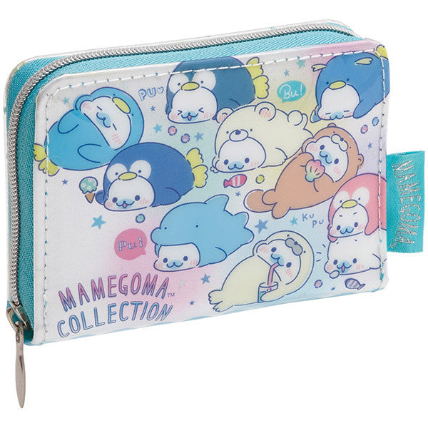 Coin Case Wallet Mamegoma Collection in Aquarium San-X Japan