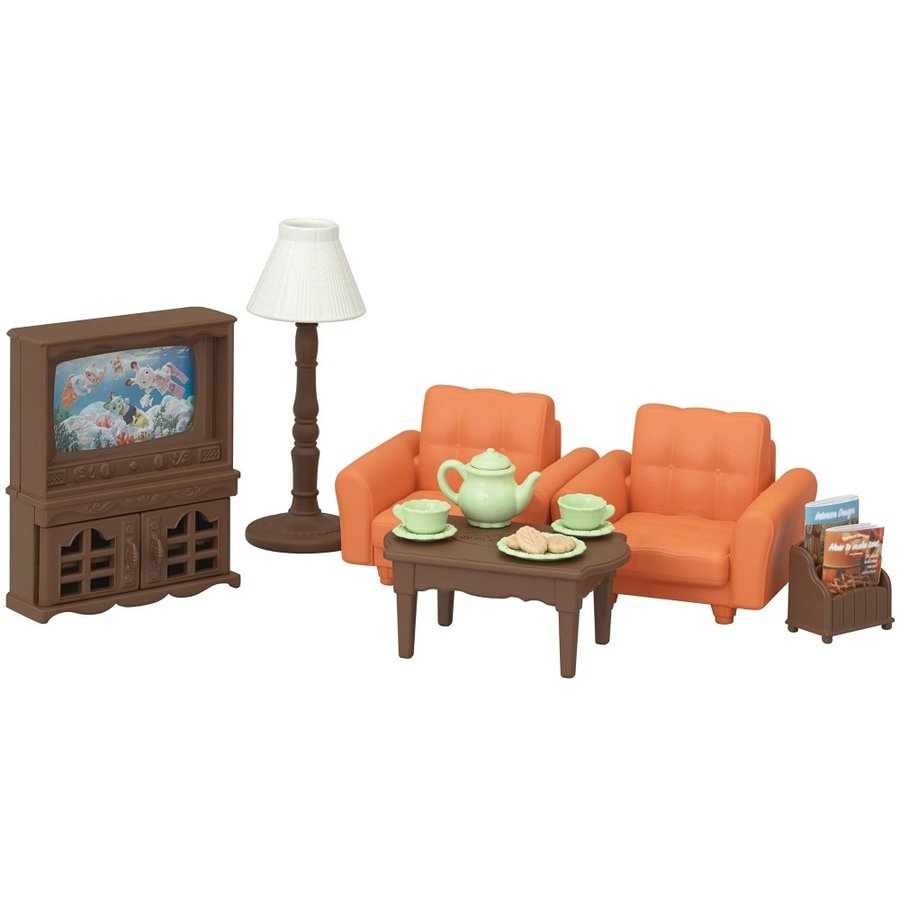 Sylvanian Families Living Room Set SE-199 EPOCH Japan