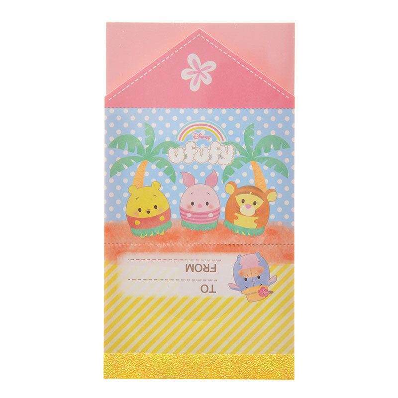 Winnie the Pooh & Friends Letter Memo Summer ufufy Disney Store Japan
