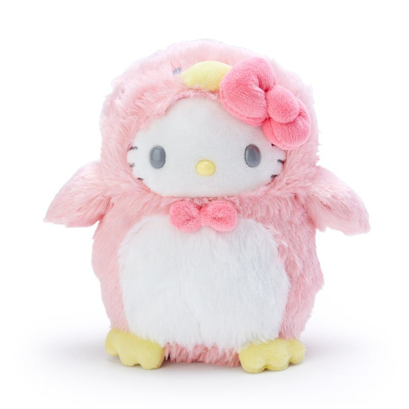Hello Kitty Plush Doll Penguin Sanrio Japan