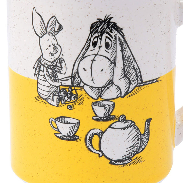 Winnie the Pooh & Friends Mug Cup Christopher Robin Disney Store Japan