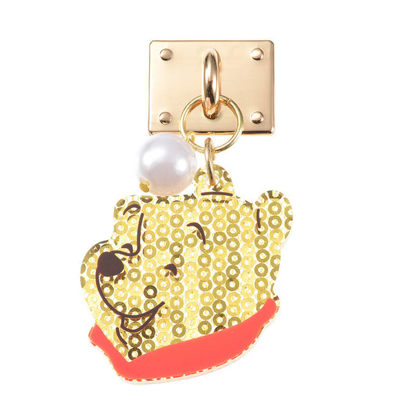 Winnie the Pooh Charm for Smartphone Case good laugh Disney Store Japan