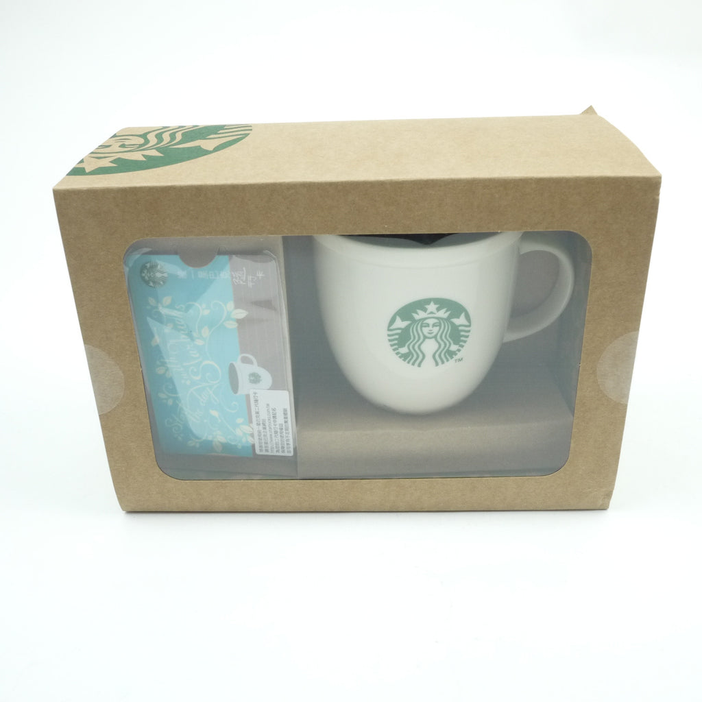 Starbucks Taiwan 7ELEVEN Gift Card Logo Abby Mug Set w/ BOX