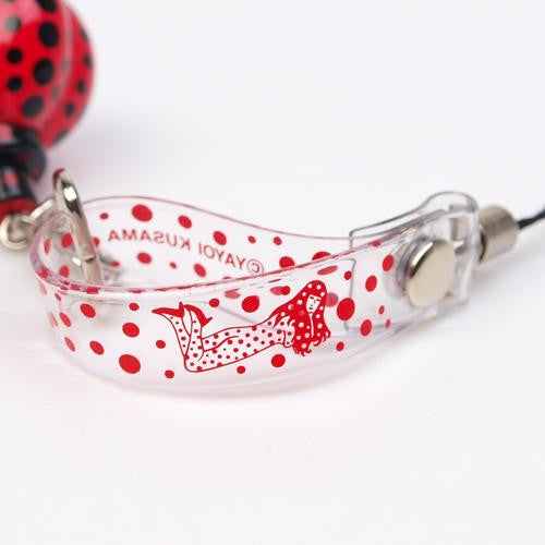 Yayoi Kusama Pumpkin Red Mobile Strap Accessory Japan Artist