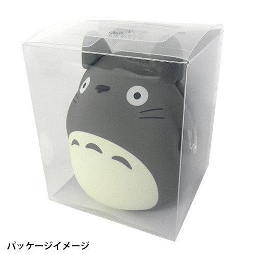 My Neighbor Totoro Silicon Clasp Pouch Gray Studio Ghibli Japan