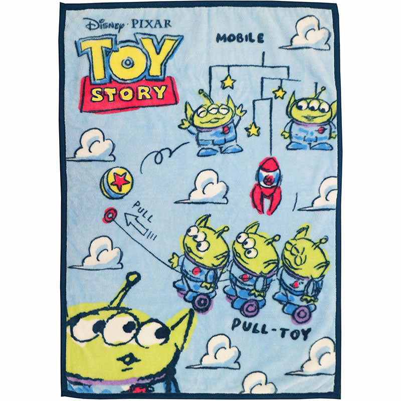 Toy Story Alien Half Blanket Sunny Holiday Disney Store Japan