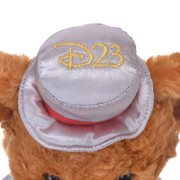 UniBEARsity Mocha Plush Doll S Top Hat 7th Anniversary Expo 2018 Disney Japan