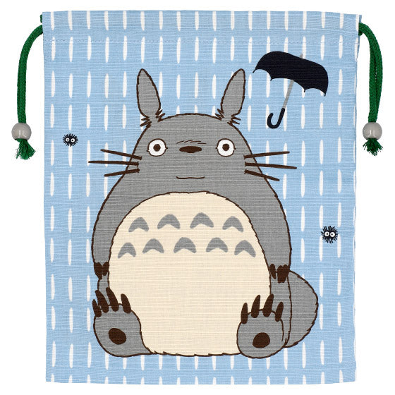 My Neighbor Big Totoro Drawstring Pouch Asami Color Studio Ghibli Japan